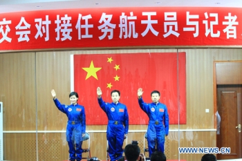 China will launch three astronauts, including a woman on Saturday
