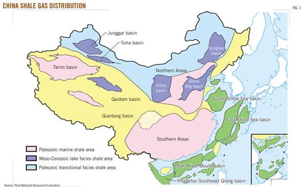 Shale-gas_China