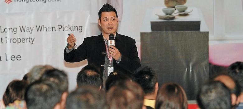 Leon Lee at Penang Property Fair