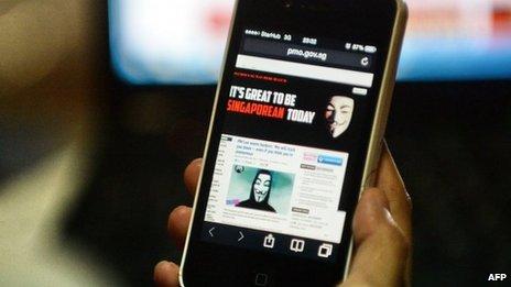 Singapore cyber war