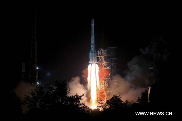 China Lunar Probe_Change-3_Long March B3