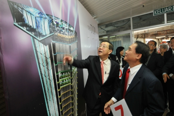 Penang CM opening Solar co