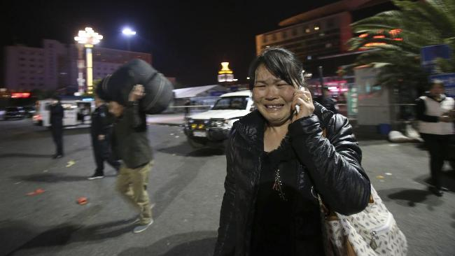 Kunming terrorist Knife attack