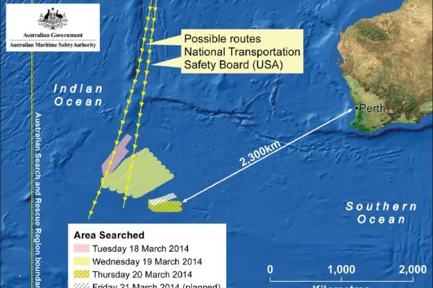 MH370-South Indian Ocean