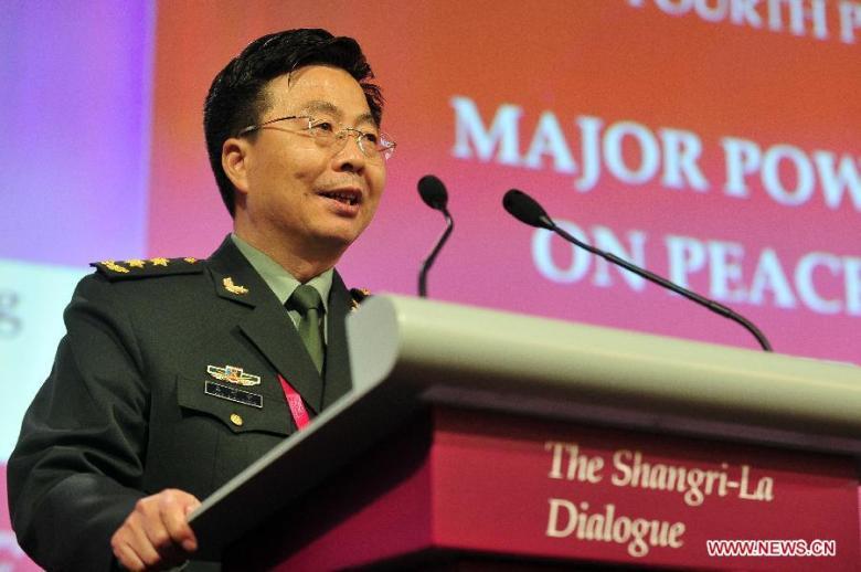 Shangri-La Dialogue2014-Wang Guanzhong