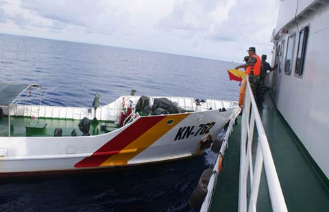 Vietnam ship hitting Chinese coast-g