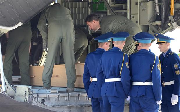 MH17-coffins
