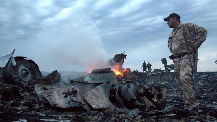 MH17 down