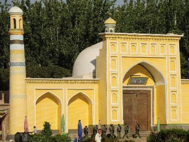 Xinjiang Iman June Tahir