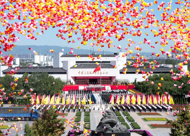 China Victory Day Sept3