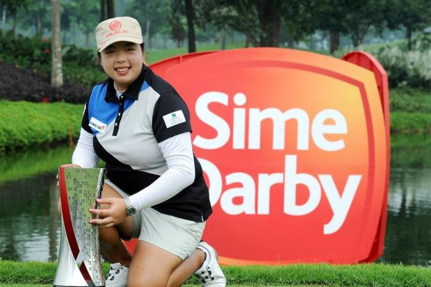 Shanshan_Win Sime D LPGA Malaysia