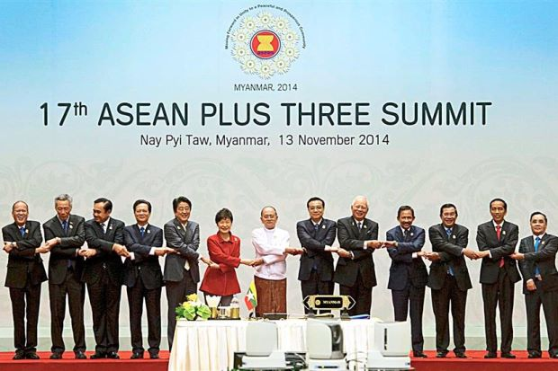 Asean 214 plus Three