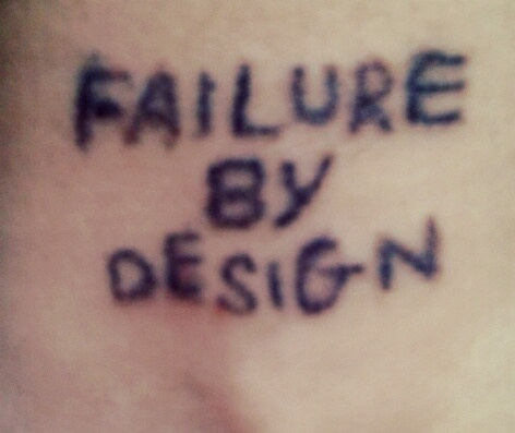 Startup_failure by design
