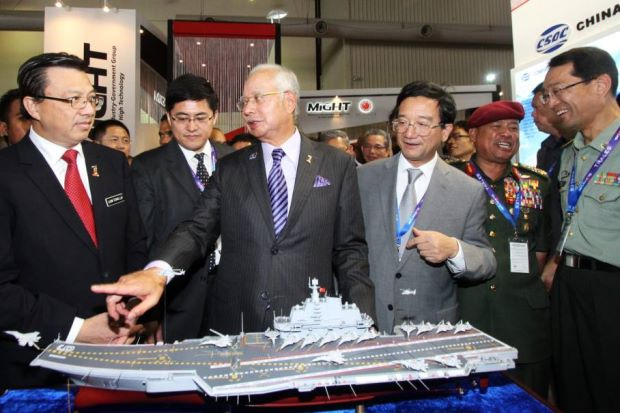 LIma 2015_Najib-Best maritine show