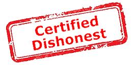 Certified dishonest